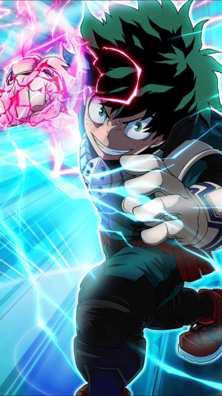 Deku Izuku Midoriya Quirk One For All Hero Wallpaper My Hero Academia Episodes Deku Boku No Hero
