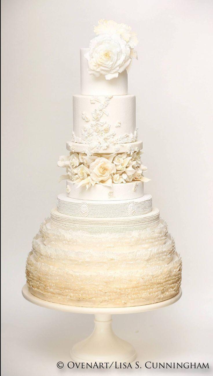 13 best Wedding Cakes images on Pinterest   Amazing cakes, Beautiful ...
