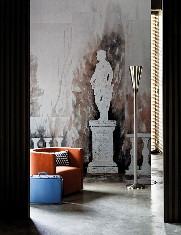 17 meilleures id es propos de papier peint contemporain sur pinterest wc noir image wc et - Papier peint ontwerp contemporain ...