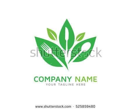 Healthy Food Logo Design Template