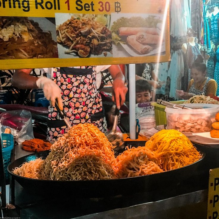 Khao San Road - What to Eat in Bangkok Thailand
