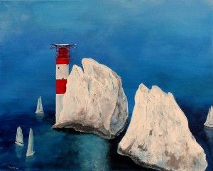 'The Needles in June' by Tracey Unwin http://artdiscoveredonline.co.uk/art-gallery/the-needles-in-june/