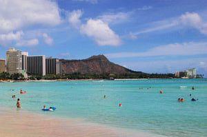 State of Hawaii - Hawaii Island and County Names, Nicknames and Geography: Diamond Head State Monument on the Island of Oʻahu