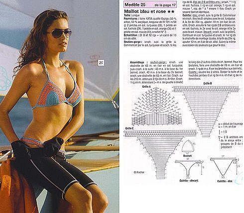 come fare i costumi alluncinetto schemi bikini a crochet paciuga brega
