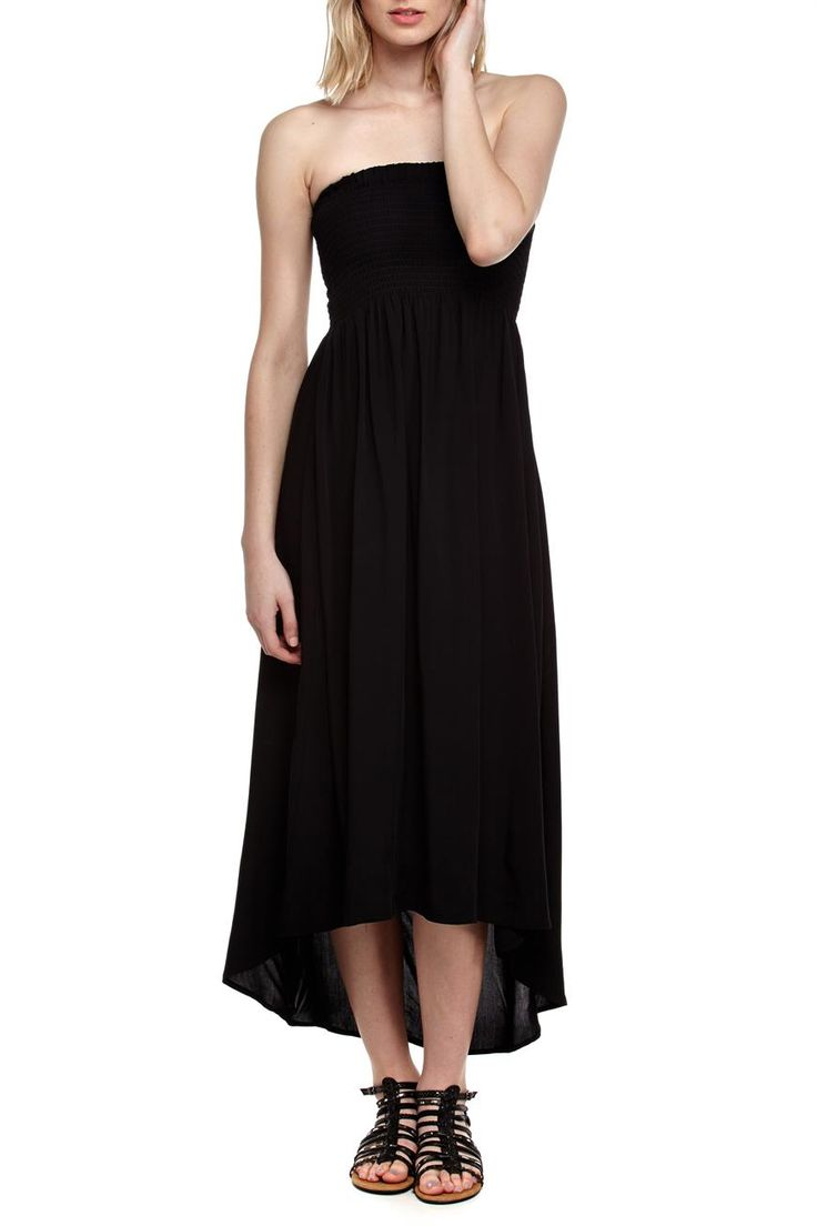 riley strapless dress