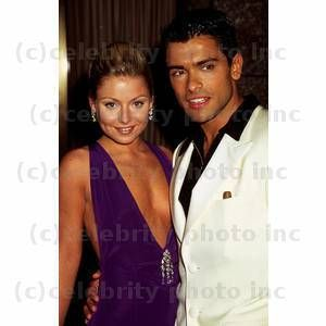 Kelly Ripa & Husband Mark Consuelos Photo by John Paschal 23rd Daytime Emmy Radio City May 23, 1996 - New York New York CelebrityPhoto.com P.O. Box 1560 Beverly Hills, CA. 90213-1560-USA TEL: 310 786-7700 FAX 310 777-5455 KELLY RIPA & HUSBAND MARK CONSUELOS