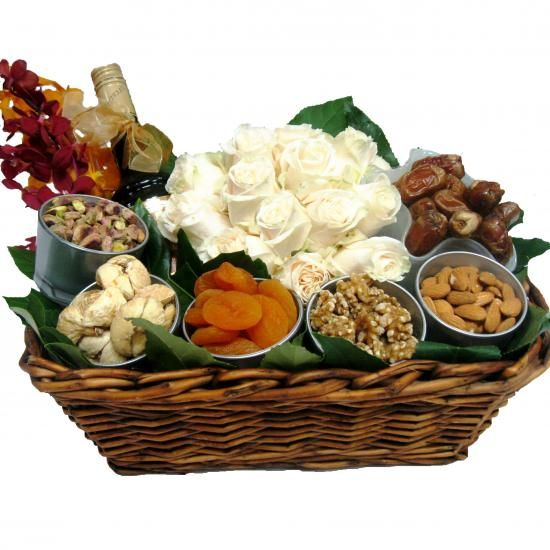 Exotica - Ramadan Basket (Dates - Dried Fruits - Nuts).