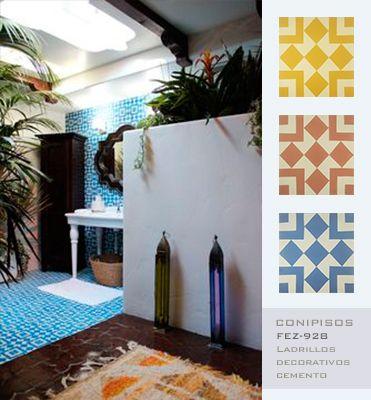 #Decoracion #interior #mosaicos #Fez- Conipisos- #Nicaragua