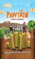 Pawtato Mint & Parsley Tubes (Vegan) Dog Treats