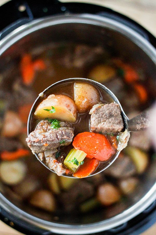 Beef Stew is the ultimate cold weather comfort food and the Instant Pot let's you have a delicious homemade beef stew in less than an hour. This Instant Pot Beef Stew recipe is sure to become a family favorite. With just a few simple ingredients, you have a delicious Beef Stew packed with tender veggies …