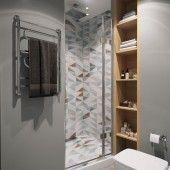 Серые ванные комнаты фото - дизайн интерьера