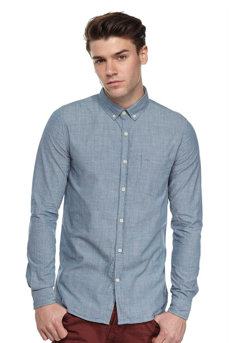 the chambray shirt   Cotton On