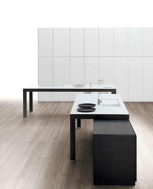 Selección de 25 imágenes de cocinas minimalistas pertenecientes a las principales marcas tanto nacionales como internacionales