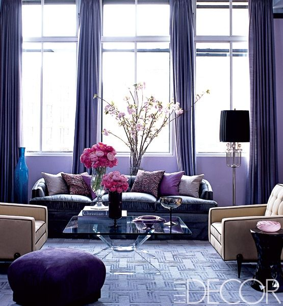 Coloring Is One Important Thing When It Comes To Decorate Our Rooms. Purple  Is One Of The Bright Color S And Many Of Us Choose Purple Color For Our  Living ...