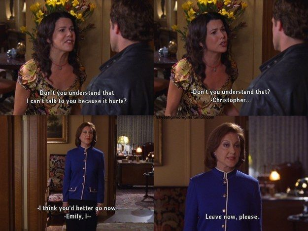 When Lorelai Fought with Christopher | Community Post: 10 Times Gilmore Girls Made Us Cry