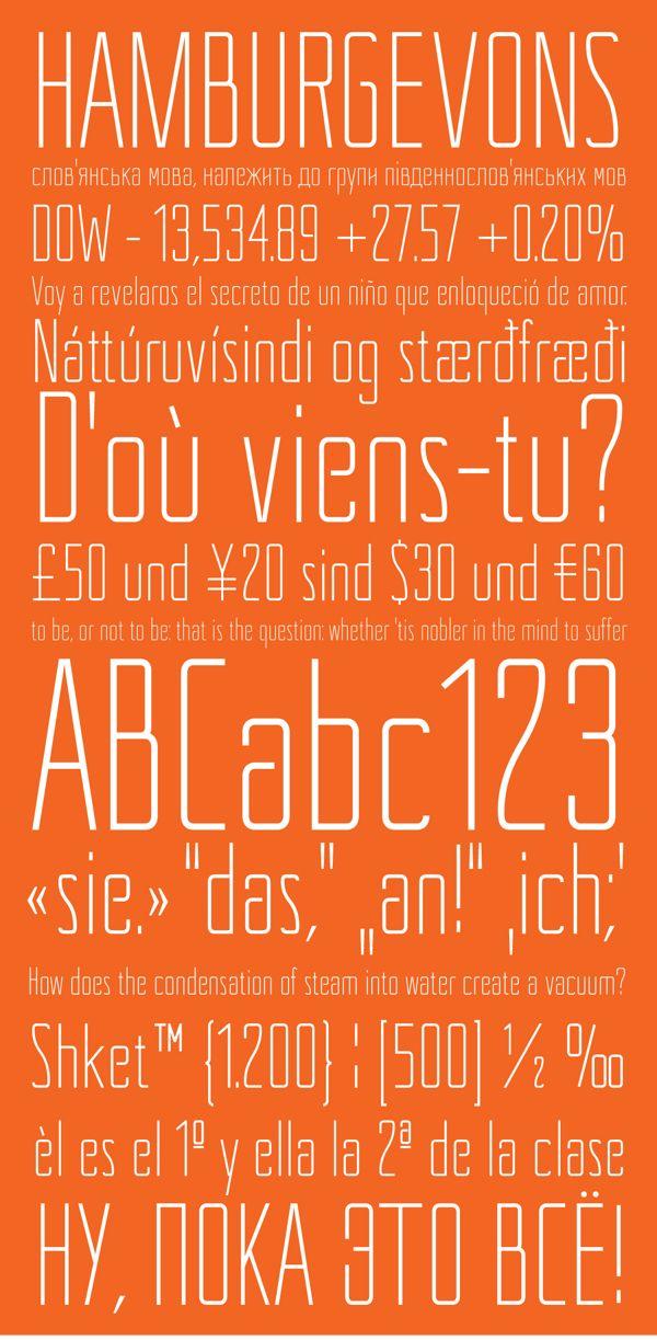 """Shket"" free font by Juan Francisco Garrido, via Behance"