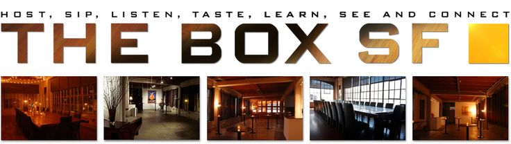 Venue: The Box SF (holds up to 130 seated, 170 standing) #roarevents