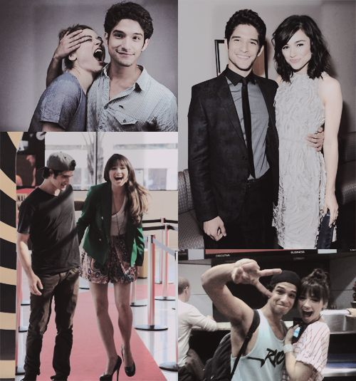 Teen Wolf + Crystal Reed + Alison Argent + Tyler Posey + Scott McCall