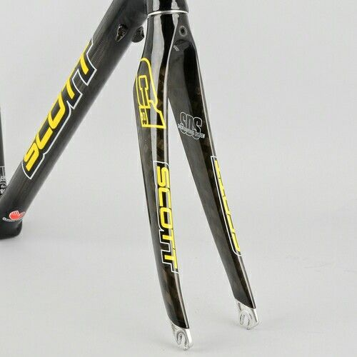 Scott CR1 fork. Lose the decals.