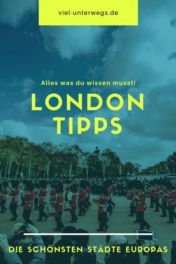 London Tipps: Das könnt ihr an 3 -5 Tage in London erleben!