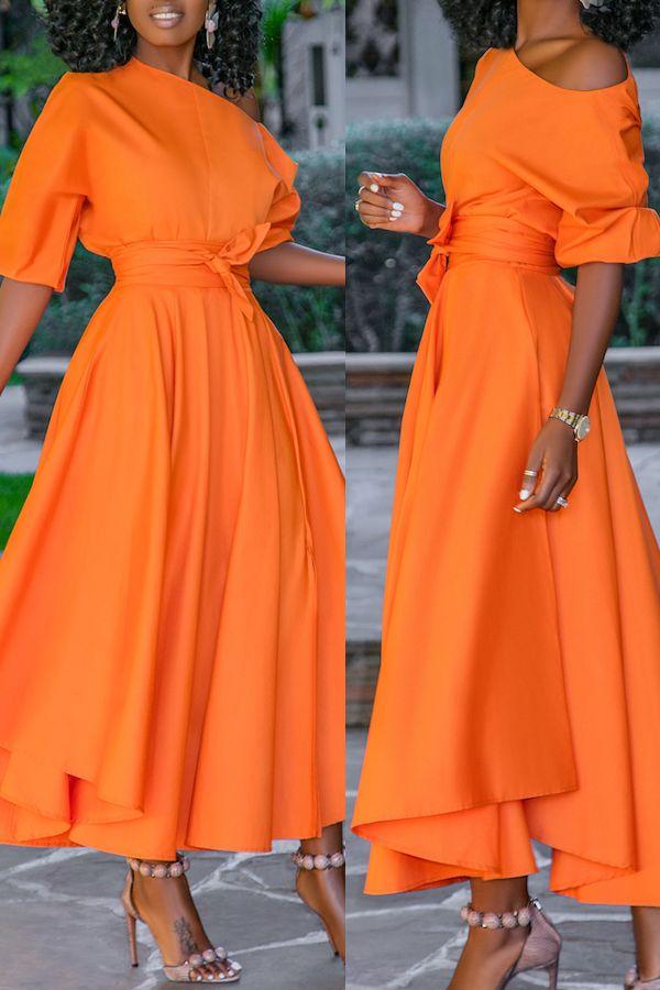 Off Shoulder Maxi Dress 2