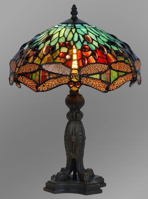 981 best tiffany lamps 1 images on pinterest tiffany lamps dragonfly tiffany style stained glass table lamp free shipping aloadofball Images