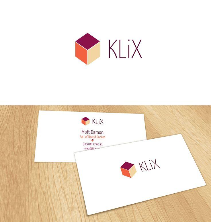 KLiX #logo and #businesscard design | #brandrocket