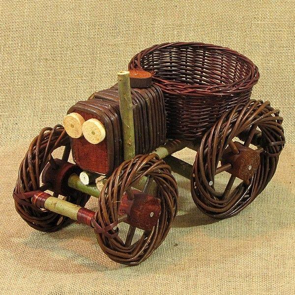 Wiklina (Wicker) - Traktor - 60 ciemny