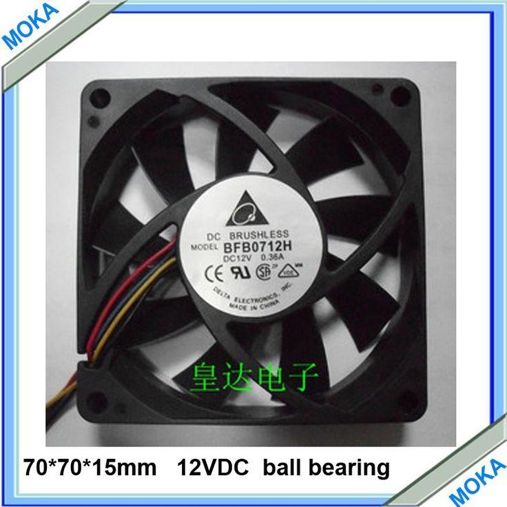 送料無料良い品質1ピースaロット7012 4ワイヤ4 pコンピュータファン70*70*15ミリメートルdc12v冷却ファン