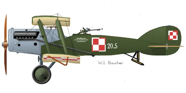 Bristol Fighter F.2b - 1921, Poland