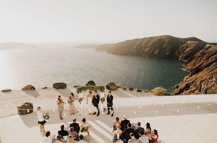 Adventurous Wedding Weekend in Santorini - Best wedding destinations
