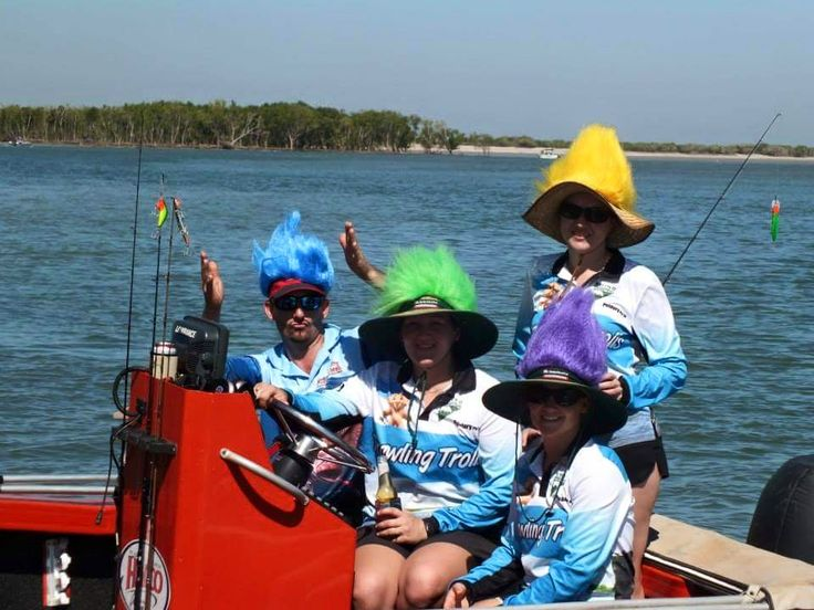 Trawling Trolls Custom Fishing Shirts  Create your #fishingshirts today http://www.spidasports.com.au/sublimated-fishing-shirts/
