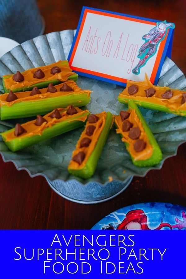 Avengers Superhero Party Food Ideas With Images Superhero
