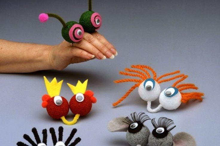 Bricoler des marionnettes à main! C'est trop rigolo!