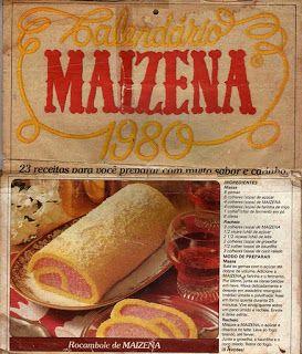 Pessoal,  Mexi no meu Hd e achei essas receitas antigas da Maizena.  Estou organizando meus arquivos e vou atualizando aqui tb.  Espero que ...