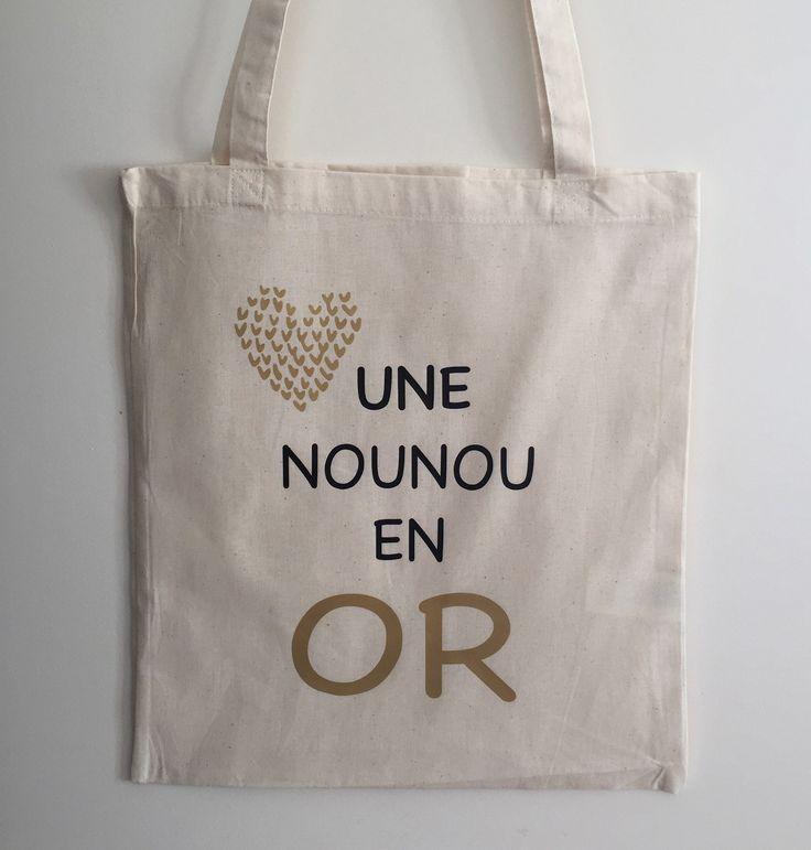 Tote Bag nounou en or : Autres sacs par happymax