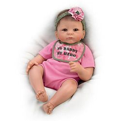 My Daddy, My Hero So Truly Real Baby Doll - Realistic Baby Dolls