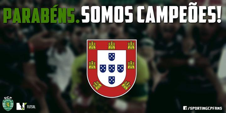 BI CAMPEÕES NACIONAIS DE FUTSAL, SPORTING CLUBE DE PORTUGAL! #sporting #SportingClubePortugal #sportingfans