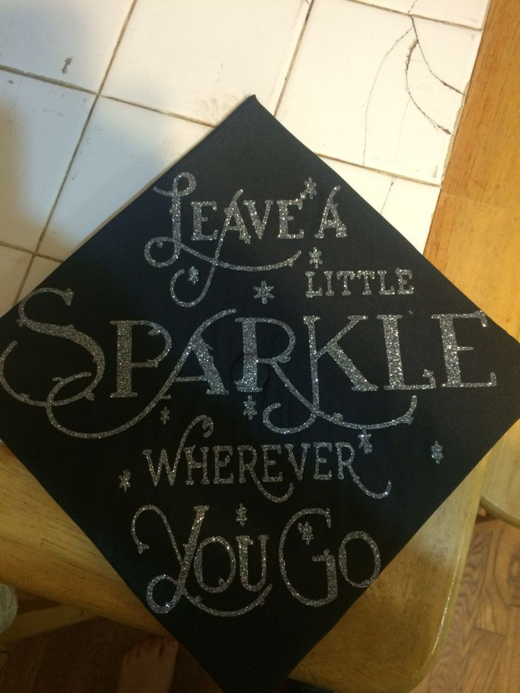 My graduation cap for my Masters degree ❤️