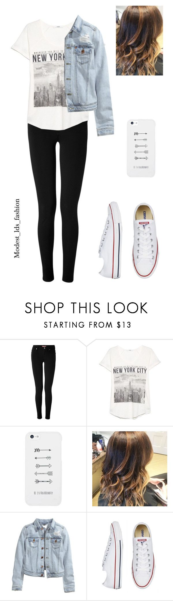 """""""Modest_lds_fashion"""" by modest-mormon-fashion ❤ liked on Polyvore featuring 7 For All Mankind, MANGO, LG and H&M"""