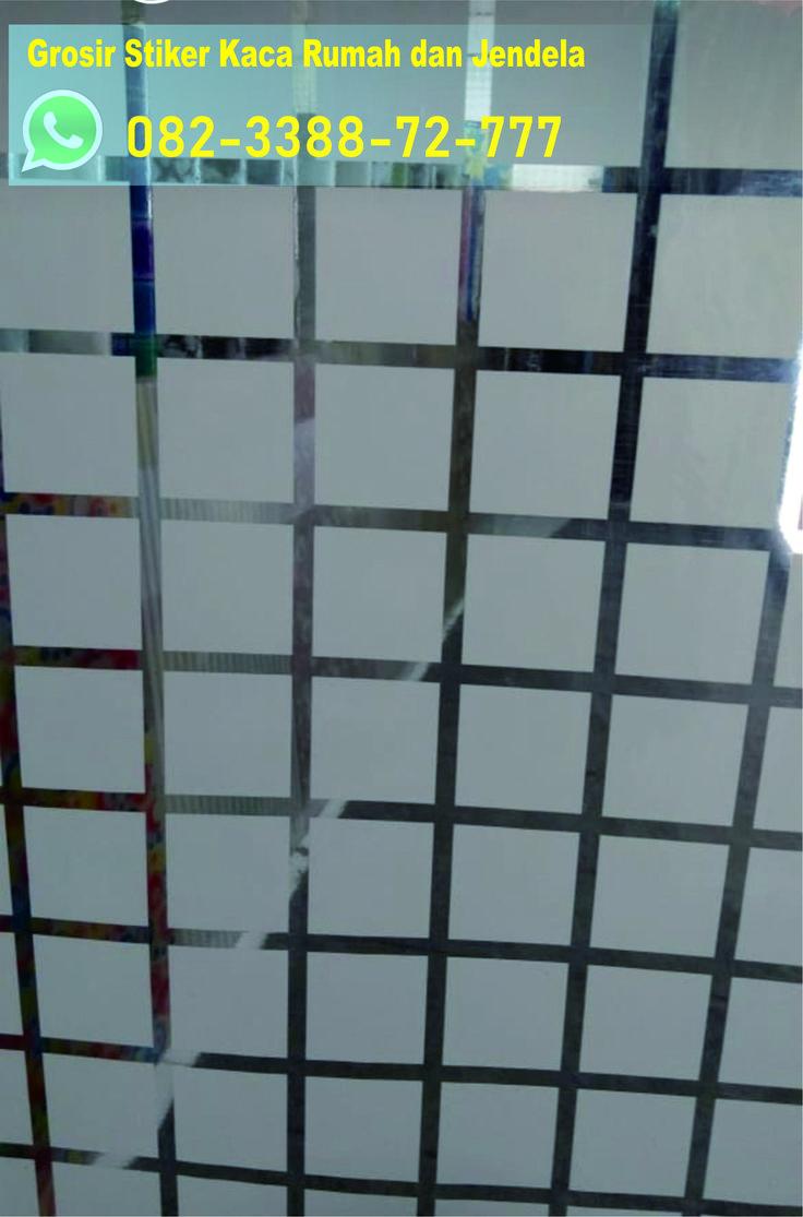 stiker kaca jendela transparan, stiker kaca jendela