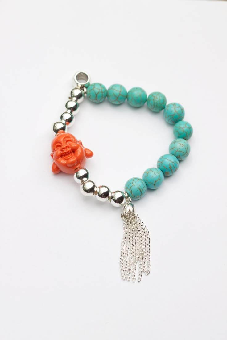 The Laughing Buddha Bracelet. $40.00, via Etsy.