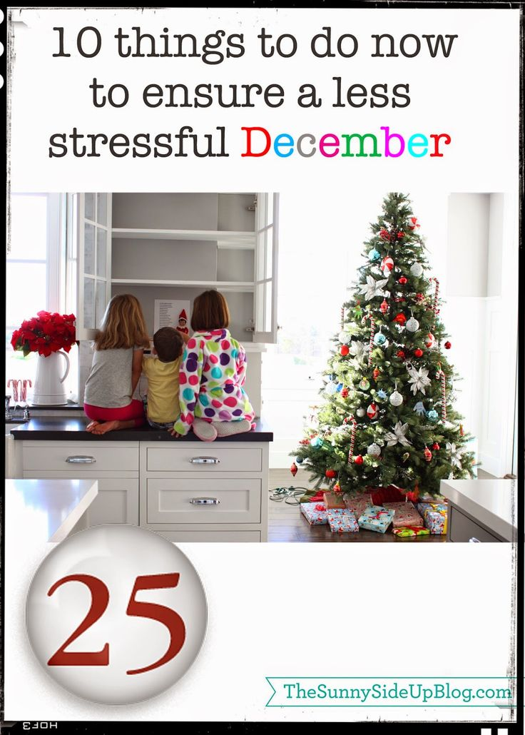 Sunny Side Up: 10 things to do now to ensure a more enjoyable {less stressful} December (including LOTS of great Christmas/gift ideas!)