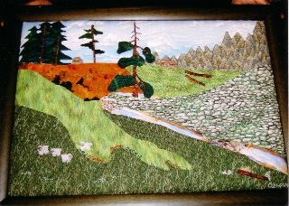 Düzce Balıklı Yaylası adlı tablom(fotograf Lütfü Şimşek)