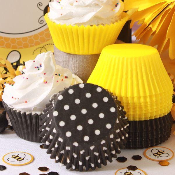Bumble Bee Coordinating Baking Cup Set At Birthday Direct