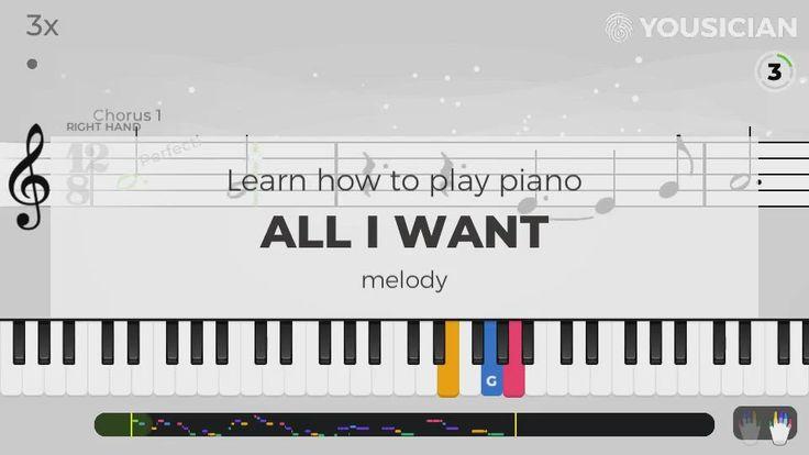 Park Art My WordPress Blog_All I Want Piano Sheet Music Kodaline