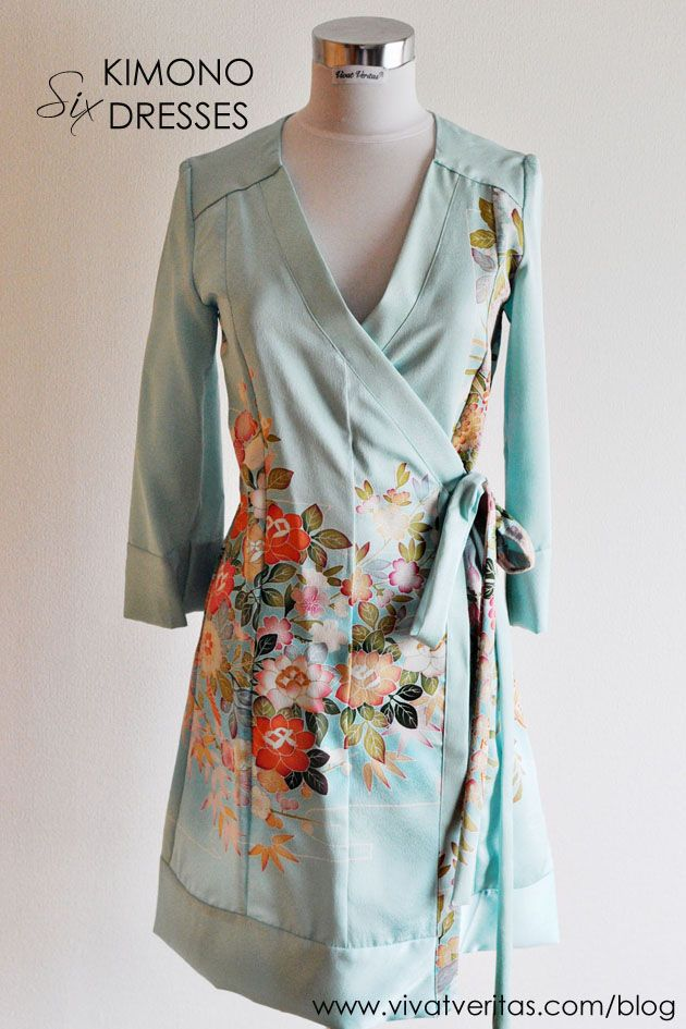 six kimono dresses blog post