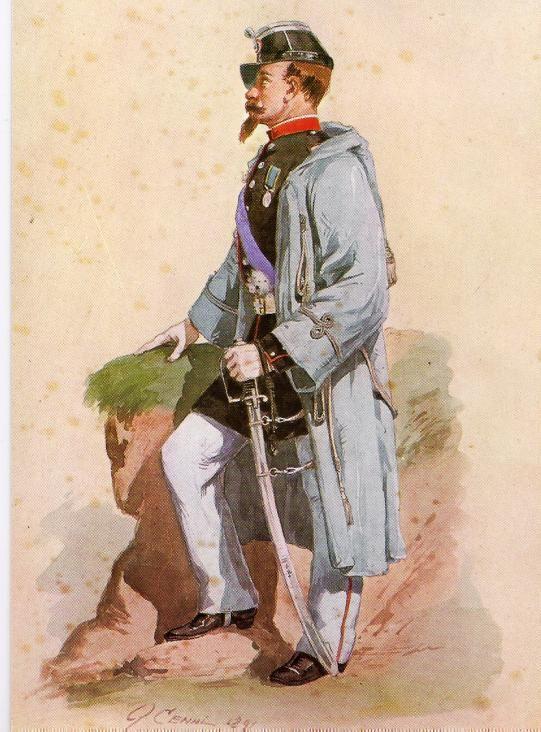 Regio Esercito, Tenente Brigata Piemonte