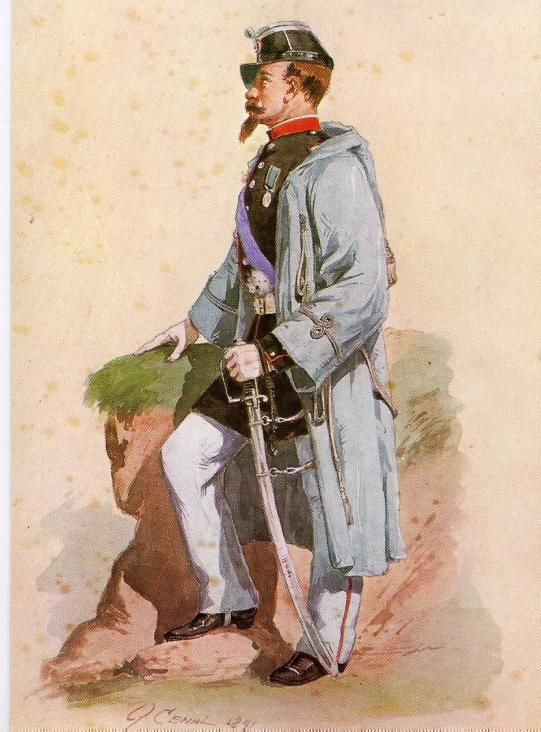 Regio Esercito - Tenente della Brigata Piemonte