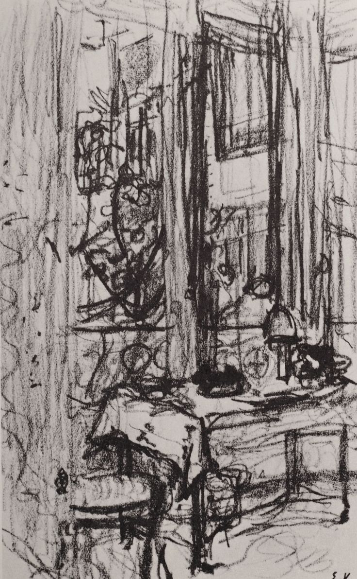 The Interiors of Edouard Vuillard | Drawing OWU